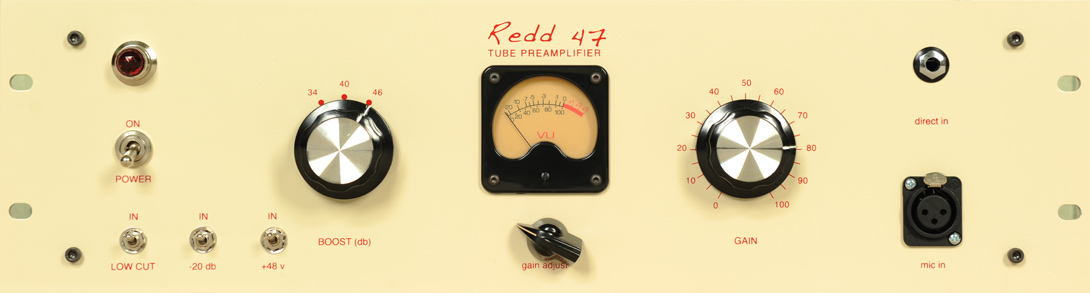 Reed 47 - Tube Preamplifier